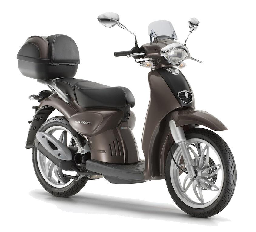 Aprilia Scarabeo 100cc and 50cc
